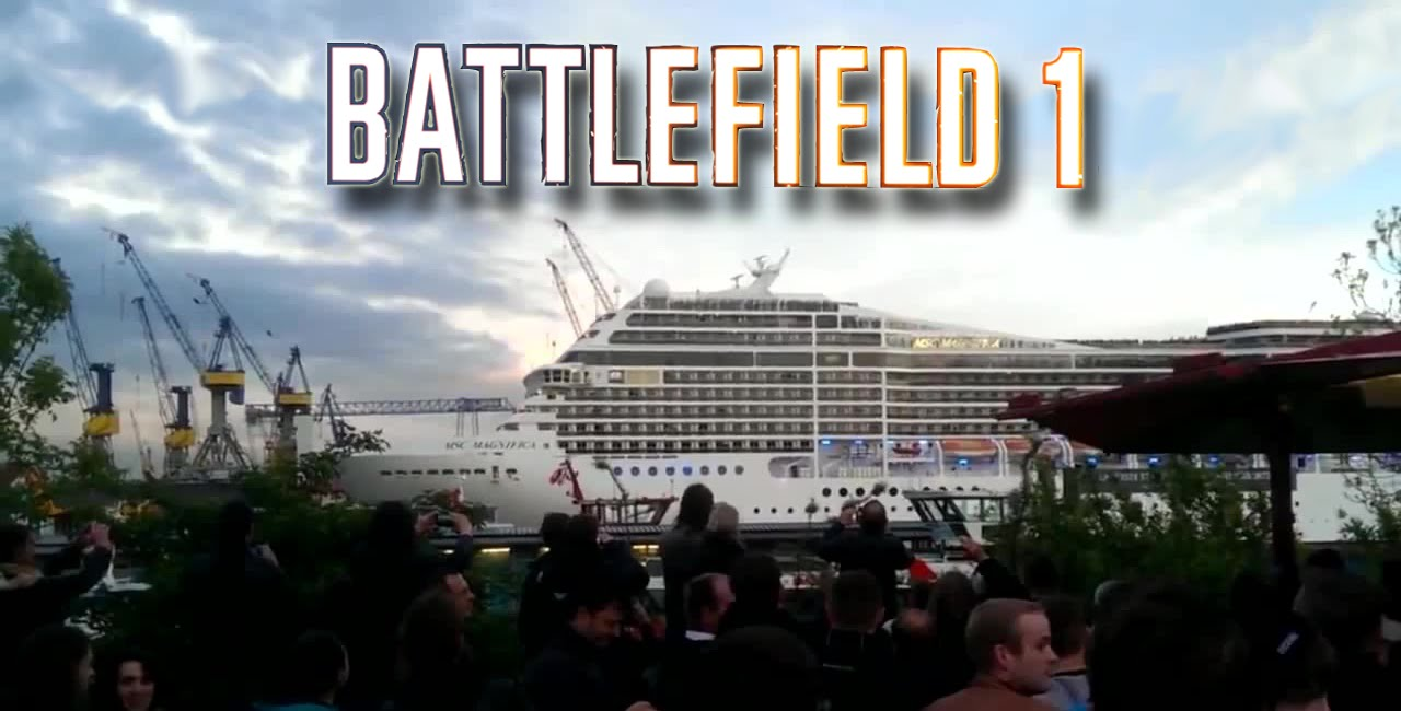 Cruise Ship Plays The Battlefield Trailer Song Seven Nation - Best cruise ship songs