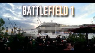 cruise ship plays the battlefield 1 trailer song seven nation army