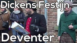 Dickens Festijn Deventer 2014 - Hot Mistletoe kissing