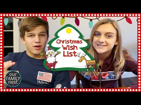 THIS YEAR'S CHRISTMAS WISH LIST