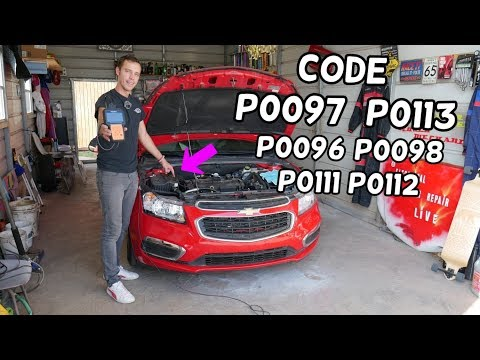 FIX CODE P0097 P0113 P0096 P0098 P0111 P0112 INTAKE AIR TEMPERATURE SENSOR CHEVROLET CRUZE SONIC