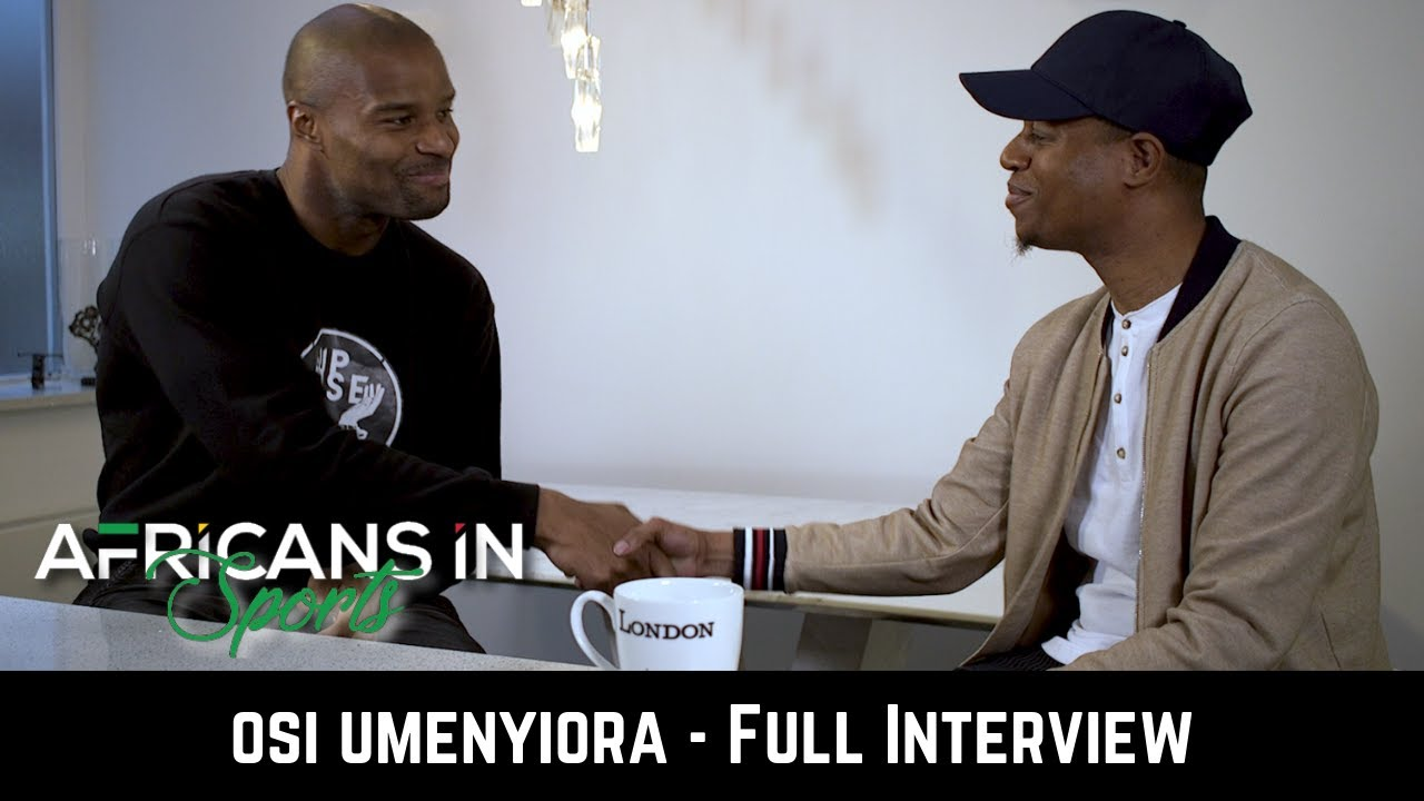 AIS S1E1: Osi Umenyiora talks about the culture (food, music and growing up in Nigeria).