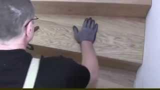 видео Облицовка ступеней лестницы плиткой: поэтапная укладка