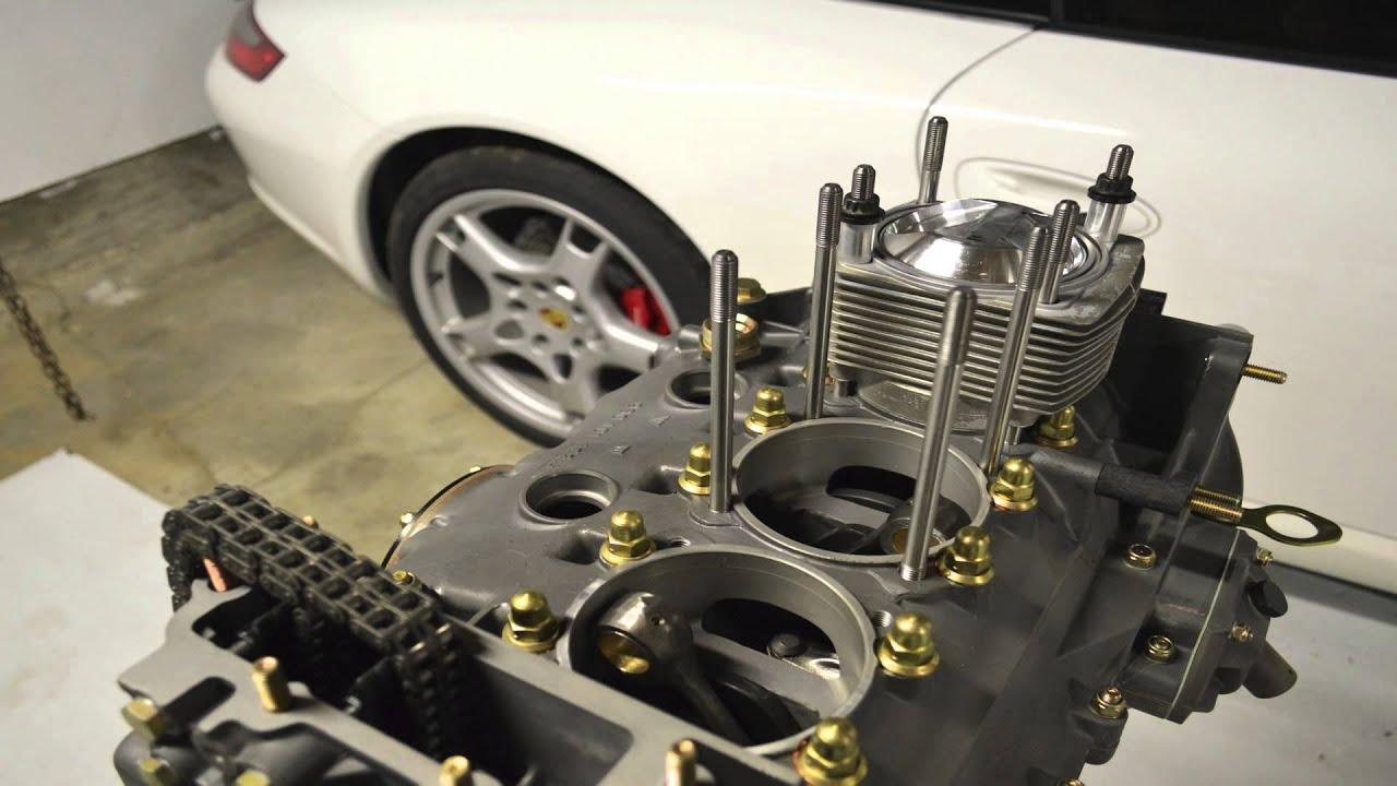 Porsche 911 3 0l Engine Assembly Pistons Et Cylindres