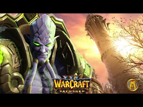 Arthas Kills Antonidas - Archimonde Destroys Dalaran Cinematic [Warcraft 3: Reforged]