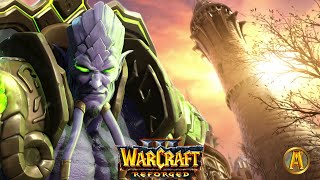 Arthas Kills Antonidas - Archimonde Destroys Dalaran Cinematic [Warcraft 3: Reign of Chaos]
