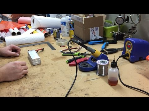 How to Repair a Damaged Lipo Battery PROPERLY & SAFELY!