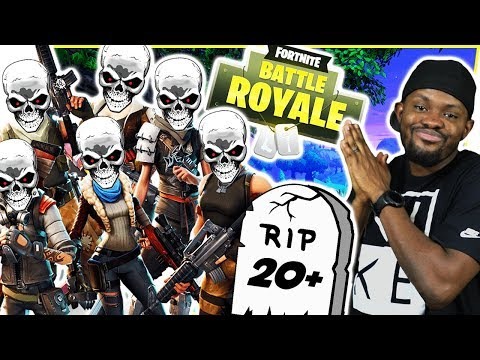 LET THE BODIES HIT THE FLOOR! 20+ KILL MASSACRE!  FortNite Battle Royale Ep103