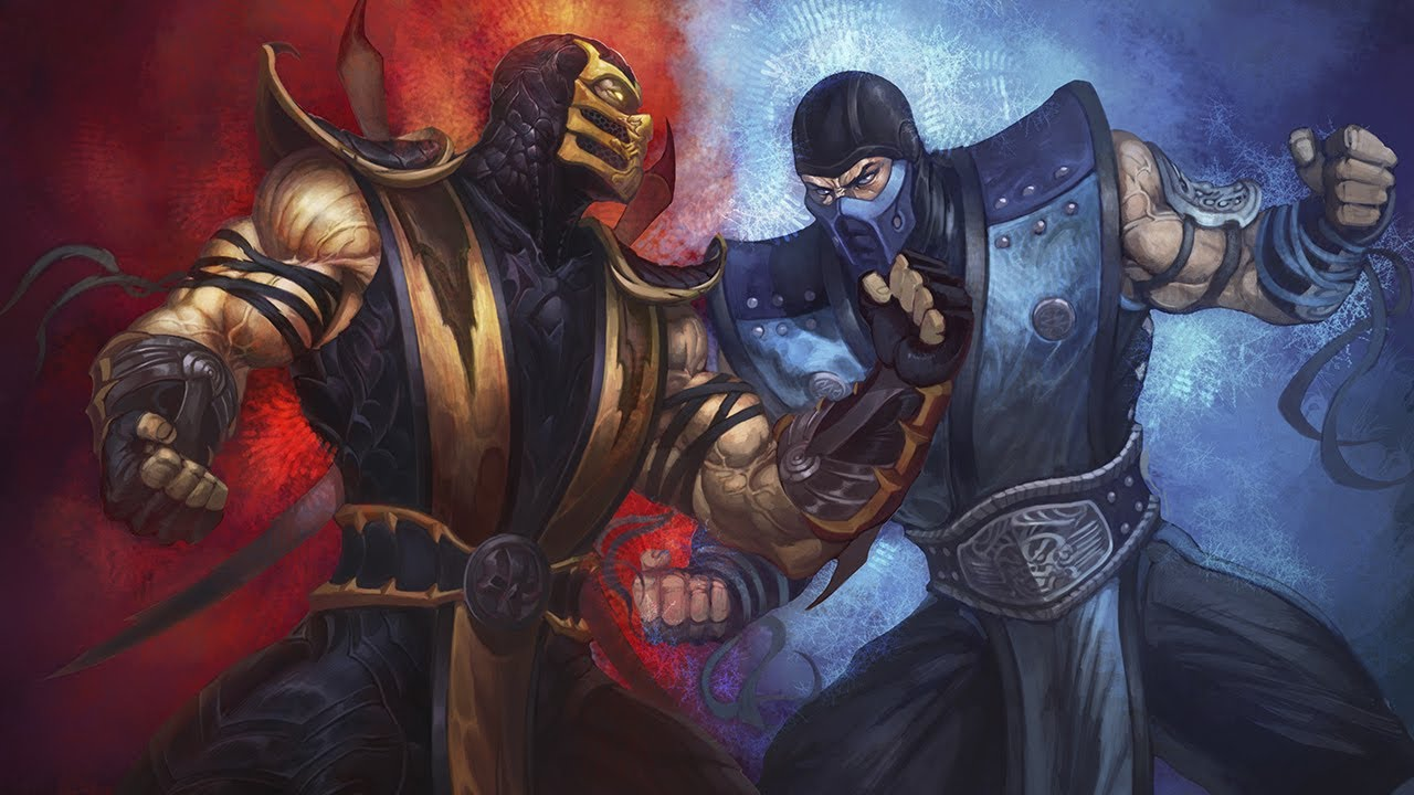 Top 10 Mortal Kombat Rivalries Youtube