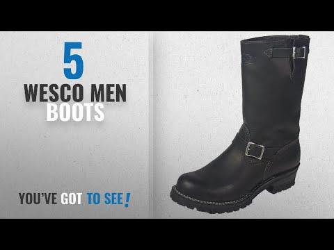 """Top 10 Wesco Men Boots [ Winter 2018 ]: Wesco Boss 11"""" Engineer Boot"""