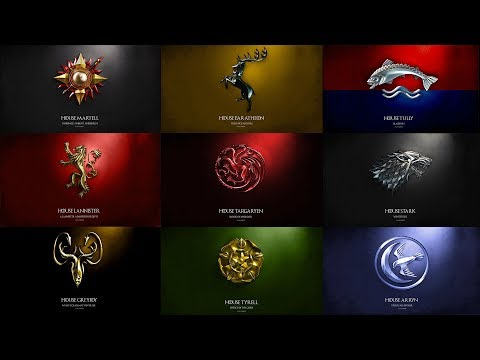Game of Thrones: Great House Themes