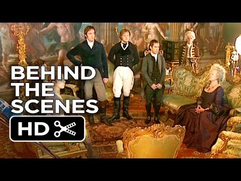 Pride & Prejudice BTS - Burghley House (2005) - Judi Dench, Keira Knightley Movie HD