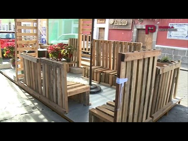 #PueblaNoticias Se llaman Parklets y están en Puebla