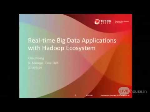 Real time Big Data Applications with Hadoop Ecosystem