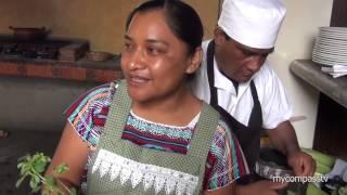 Mexican Campirano Breakfast, Oaxaca, México