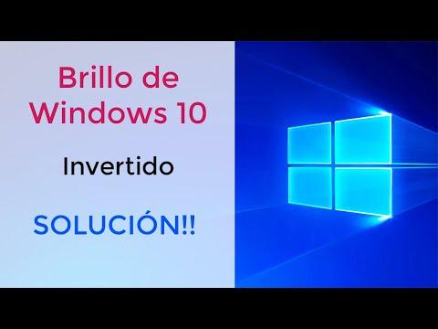 Teclas de brillo invertidas en Windows 10, SOLUCIÓN!!!