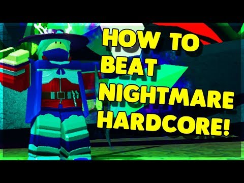 HOW TO *BEAT* NIGHTMARE HARDCORE IN GHASTLY HARBOR! (ROBLOX DUNGEON QUEST)