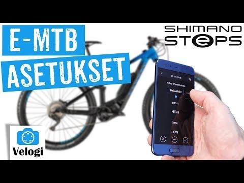 Shimano Steps E8000 MTB kustomointi