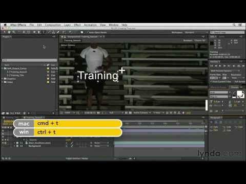 CGI After Effects Tutorials HD: After Effects Create Text Elements