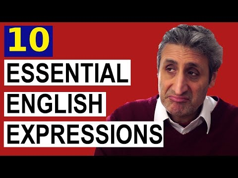 10 ESSENTIAL English Expressions