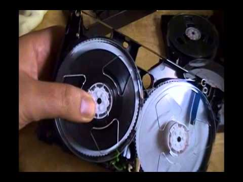 VHS, how to replace a damaged VHS cassette case