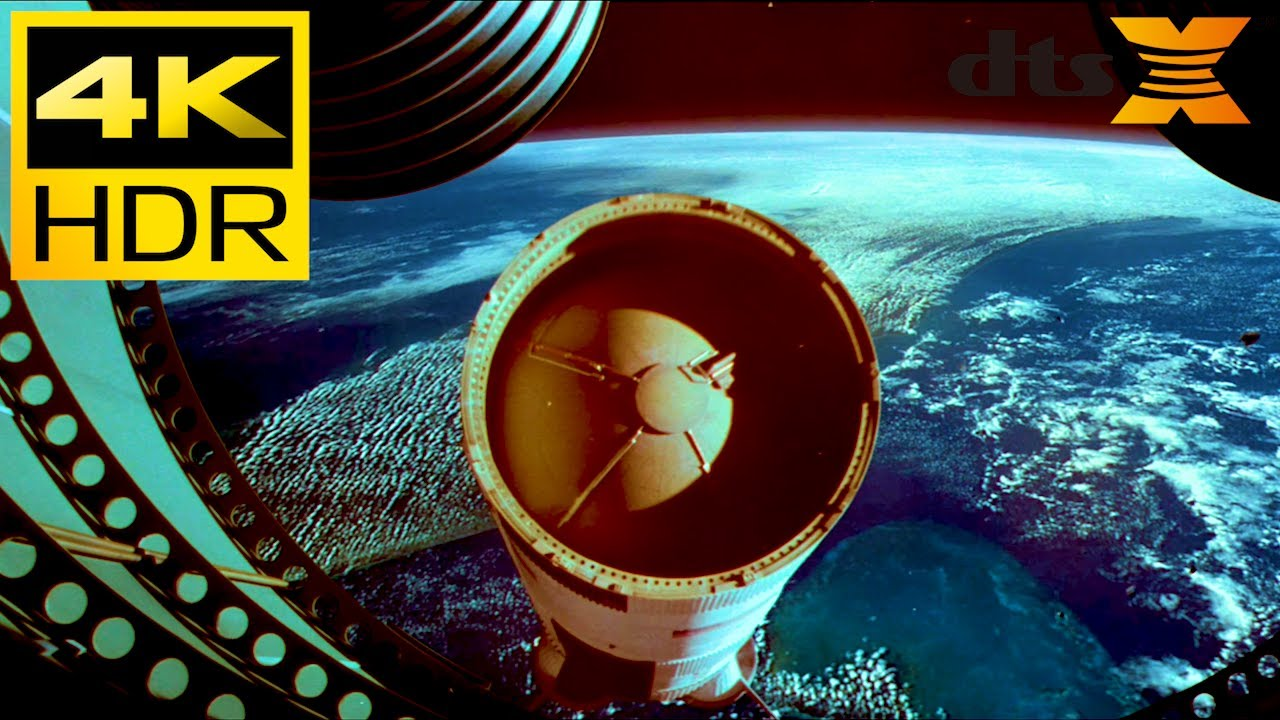 Download 4K HDR ● Apollo 13 Space Scene ● DTS X