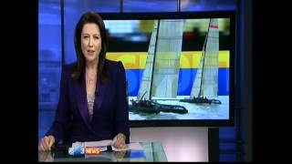 Emirates Team NZ - TV News clips - SL33