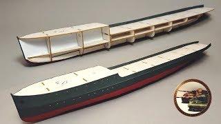 Первый выход в море. Строим Бумажный Корабль Своими Руками ч.1