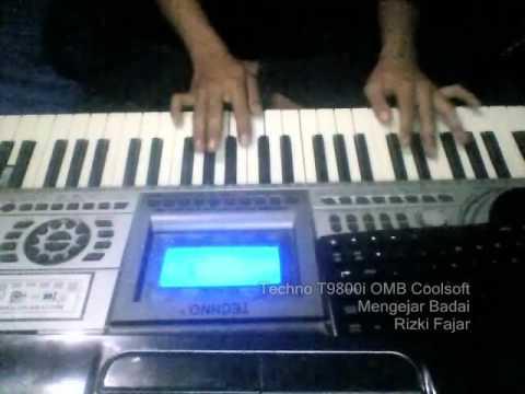 Mengejar Badai Keyboard Techno T9800i OMB Coolsoft   Rizki Fajar