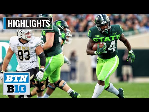 Highlights: 51 Points For Sparty Vs. Broncos | Western Michigan Vs. Michigan State | Sept. 7, 2019