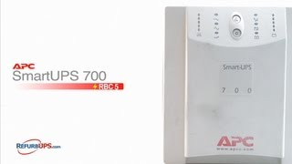 rbc5 battery replacement for apc smartups 700