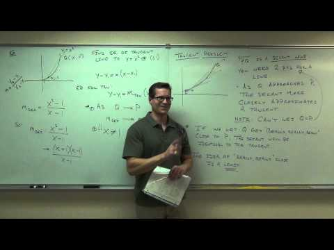 Calculus 1 Lecture 1.1:  An Introduction to Limits