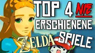 Top 4 unveröffentlichte Zelda Spiele