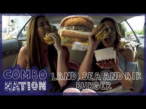 COMBOnation: McDonald's Land Sea and Air Burger