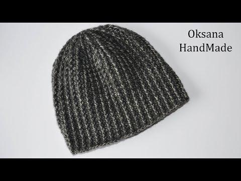 Вязание крючком шапки для мужчин