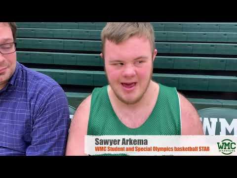 Western Michigan Christian High School's Annual United Basketball ala Special Olympics Game