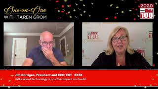 Jim Corrigan, ERT – 2020 PharmaVOICE 100 Celebration