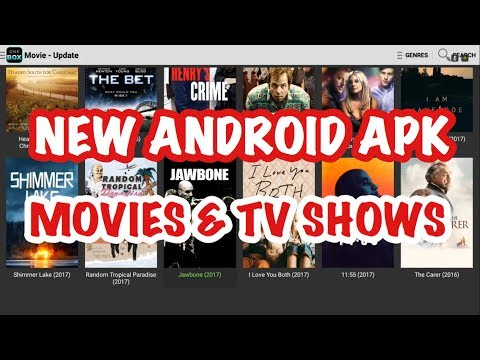 NEW ANDROID APK FOR MOVIES AND TV S! WORKS ON ALL ANDROID DEVICES! JUNE 2017