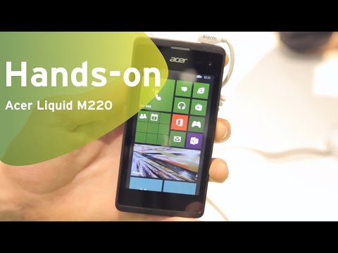 Acer Liquid M220 hands-on (Dutch)