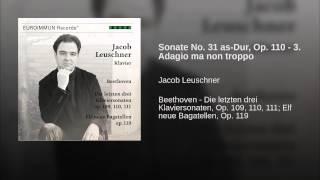 Sonate No. 31 as-Dur, Op. 110 - 3. Adagio ma non troppo