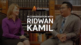 Download Video In Conversation with Ridwan Kamil, Mayor of Bandung MP3 3GP MP4