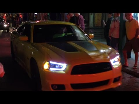 Muscle Car Show Main Street Cruise Old Town Kissimmee Florida - Kissimmee car show saturday