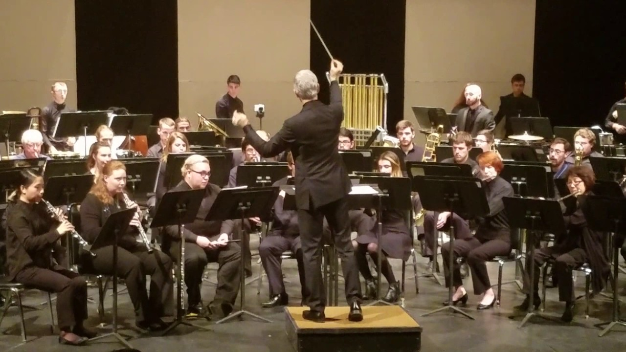 Portland State University Concert Band 12/1/16 Pt.1 - YouTube