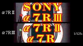 シャッターシーケンス SONY α7RIII α7RII α7R