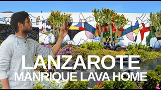 【4K】LANZAROTE, Cesar Manrique Foundation Lava House Walk