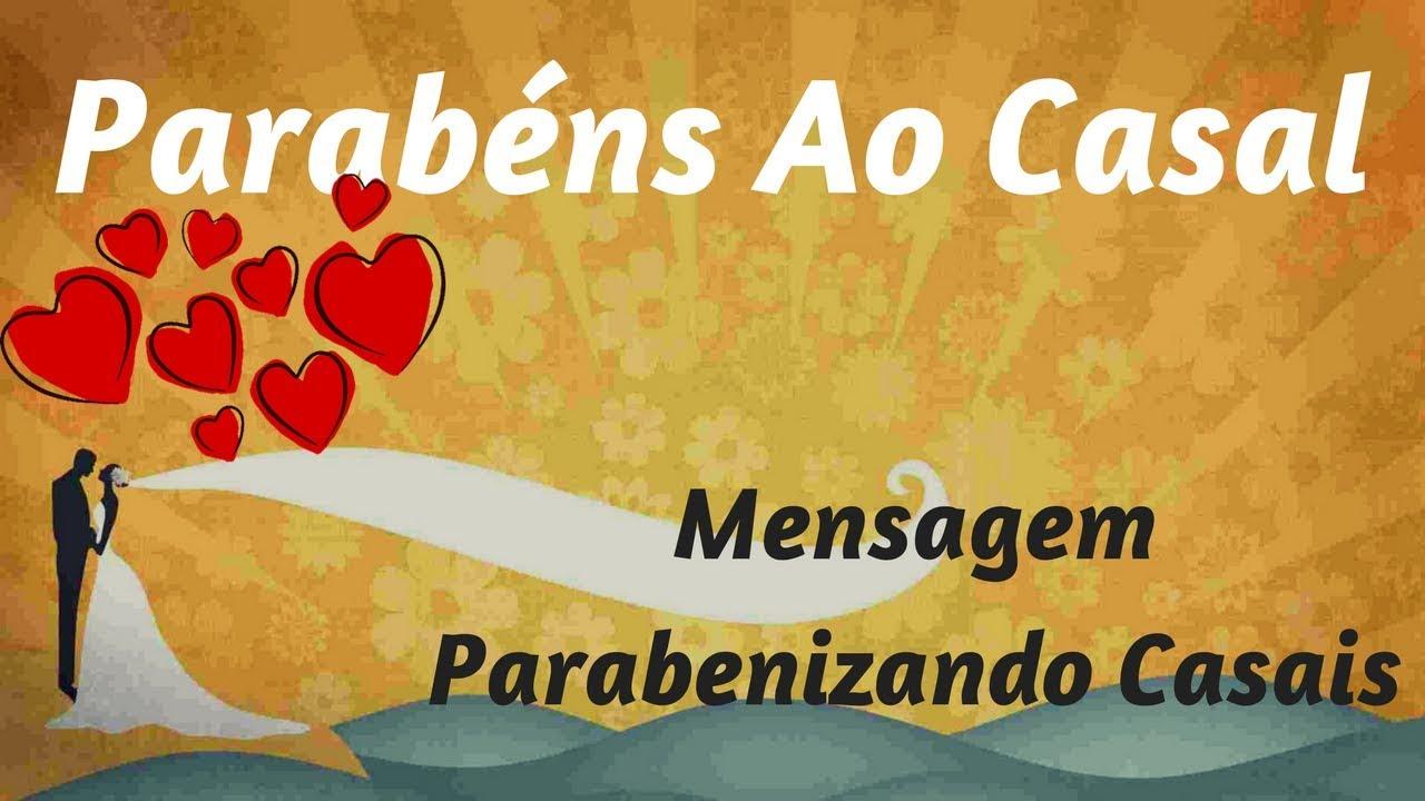 Mensagem Parabenizando Casais