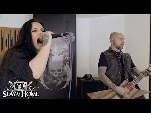 AKIAVEL Full Performance On Slay At Home | Metal Injection