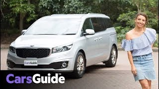Kia Carnival 2018 review: Platinum petrol