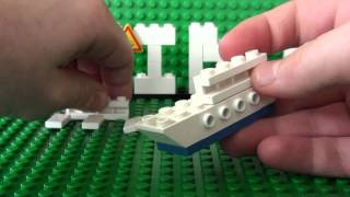 Mini Series #1.4: How To Build A Mini Lego Cruise Ship