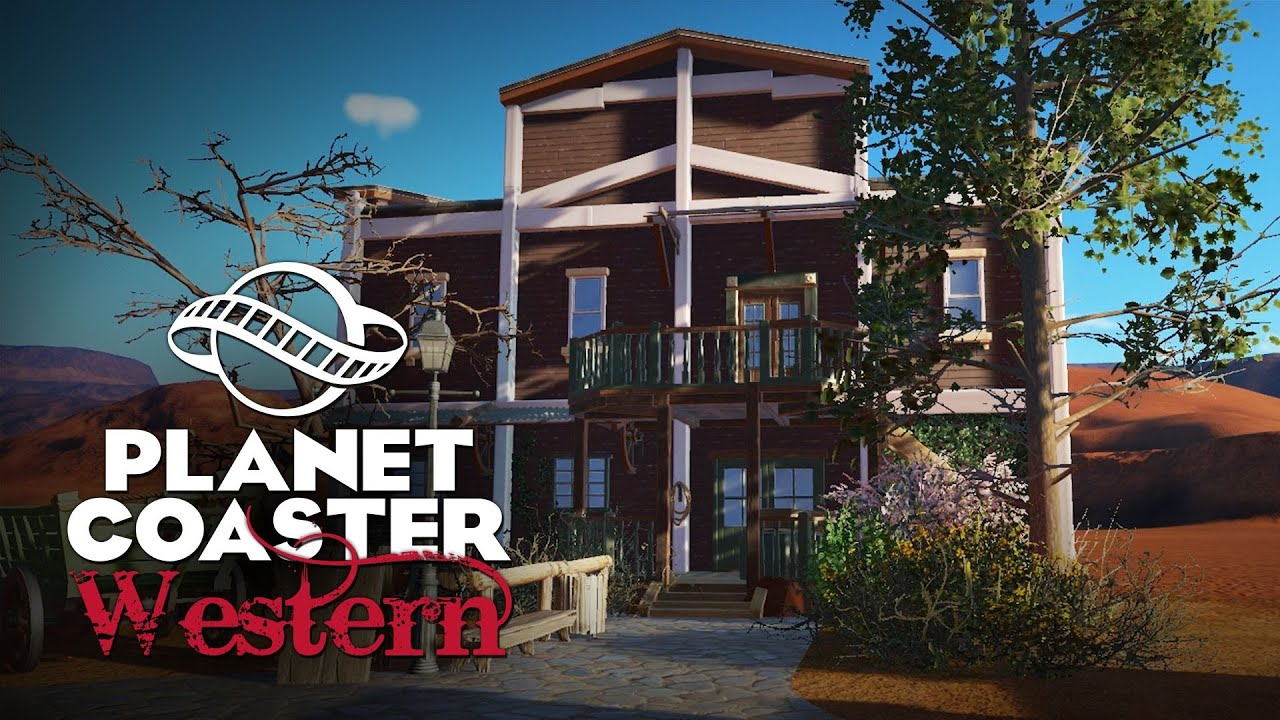 Planet coaster deutsch western park folge 1 timelapse for Plante western